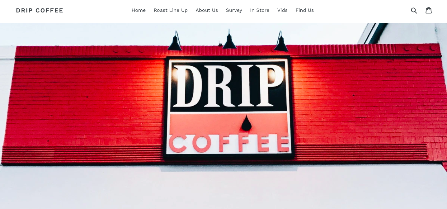 Now with two locations, Drip Coffee Co. offers fresh roasted coffee throughout the week.