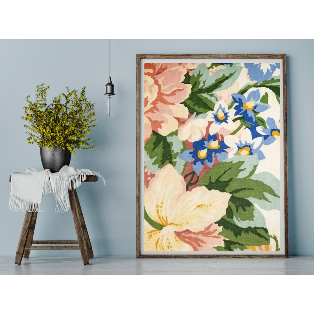 Flower Painting And Plant