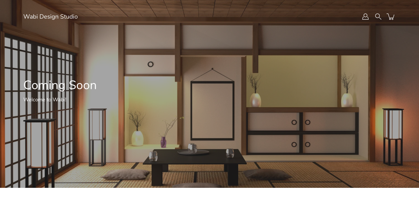 For a taste of both traditional and modern, Wabi Design Studio introduces carefully curated and custom designed Japanese art, accesories, clothing and bath products!