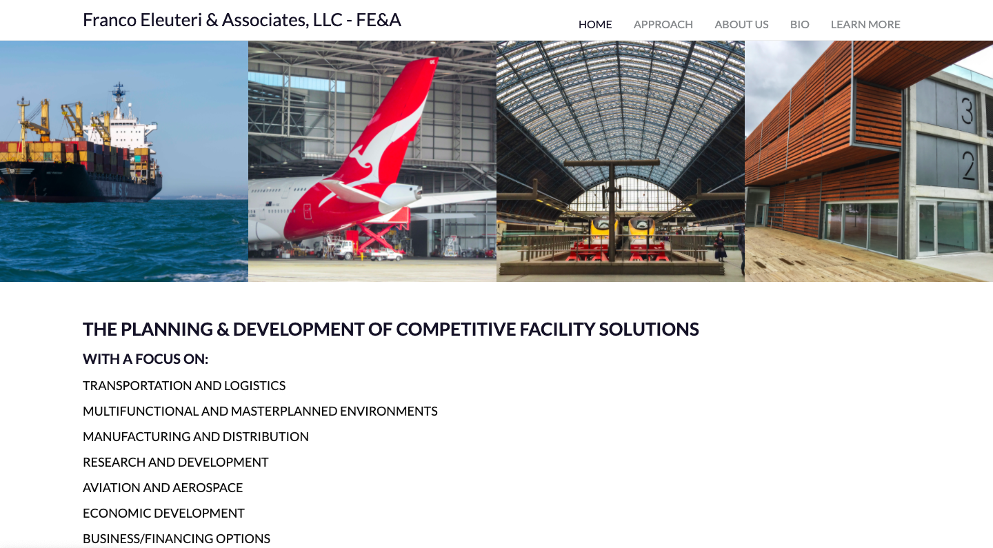Solutions for the development of aircraft maintenance, repair and overhaul facilities.