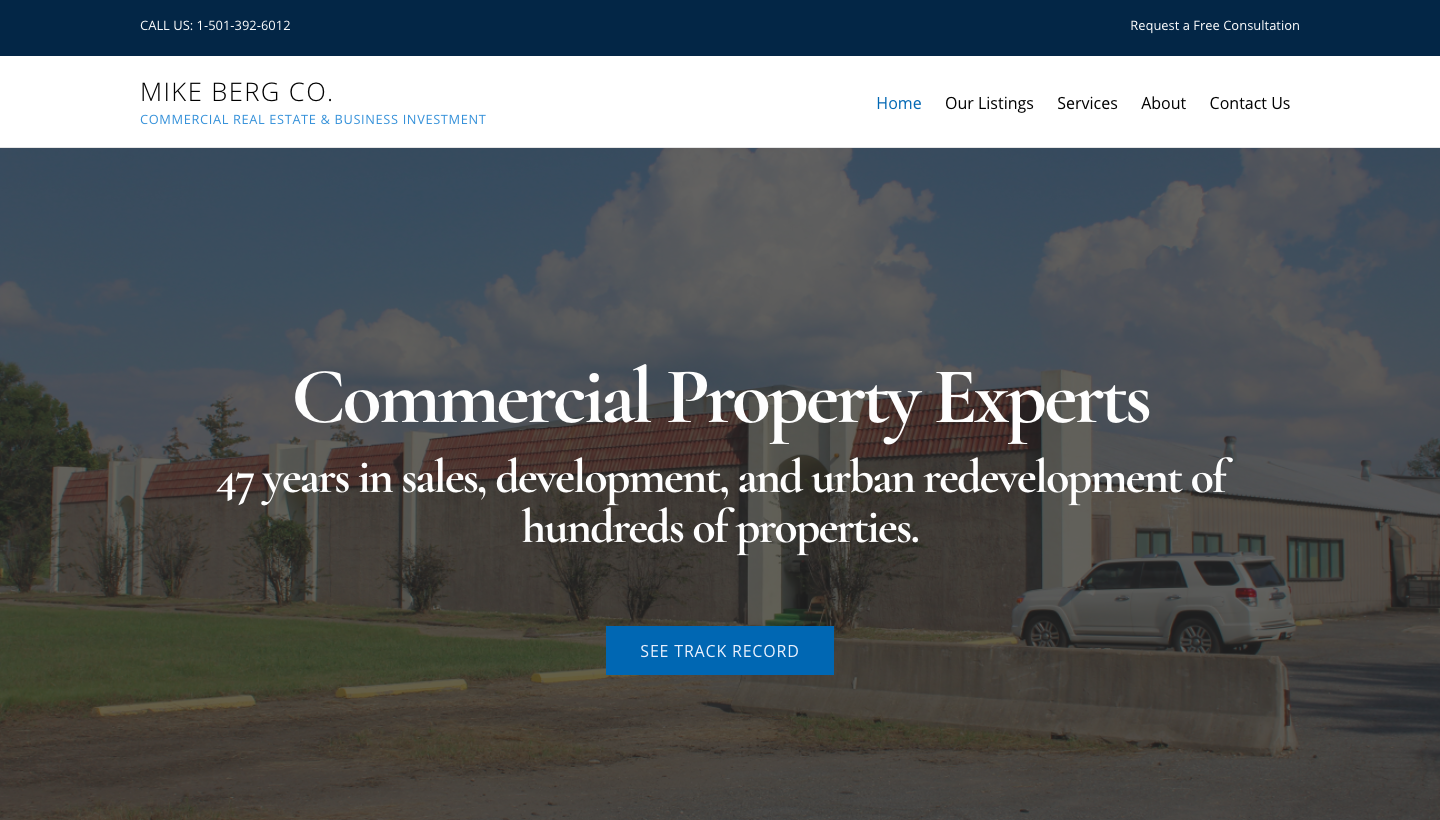 Commercial property experts with 50 years in sales, development, and urban redevelopment of hundreds of properties!