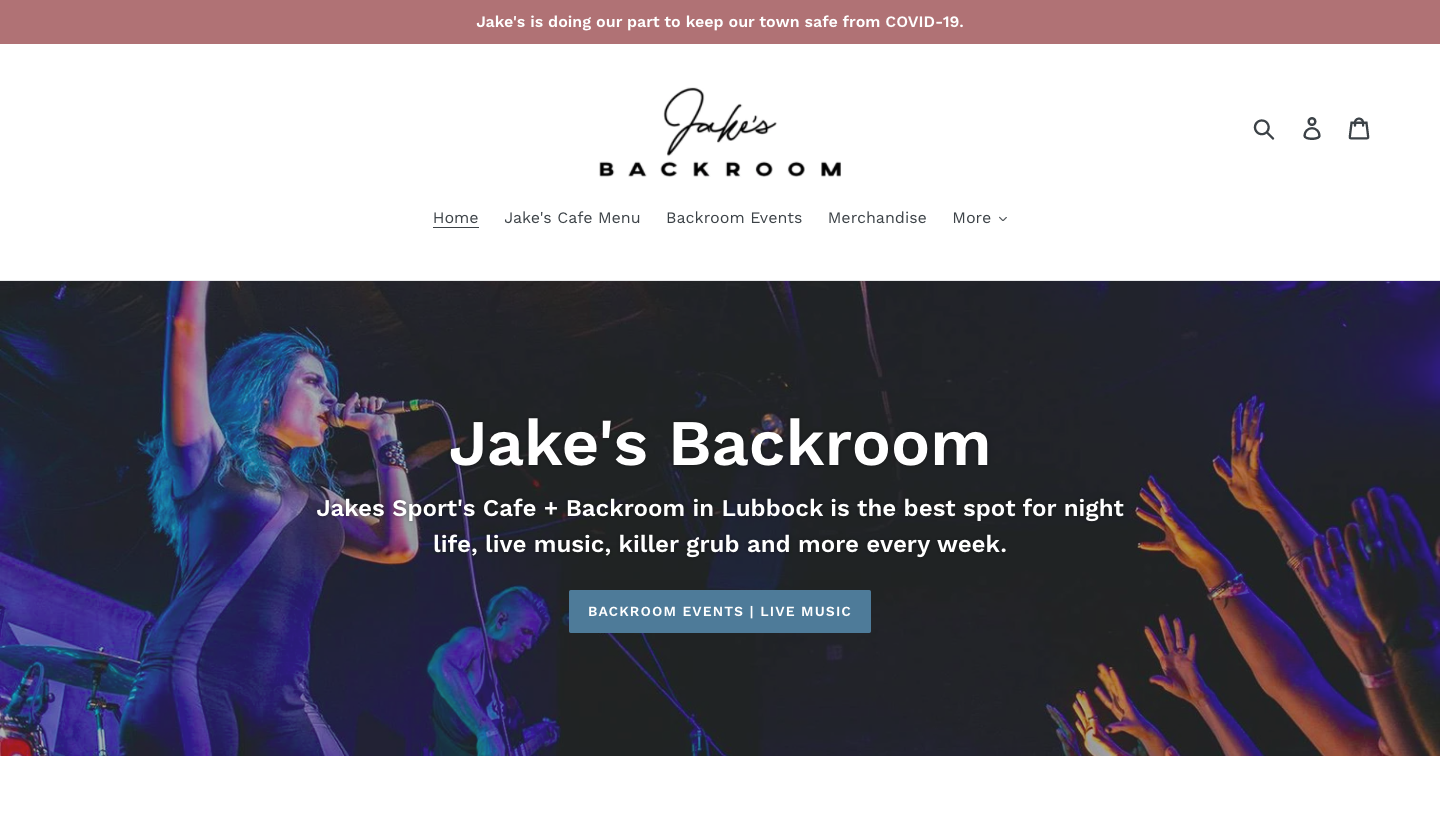 Jake's Sports Cafe   Backroom in Lubbock is the best spot for night life, live music, killer grub   more every week!