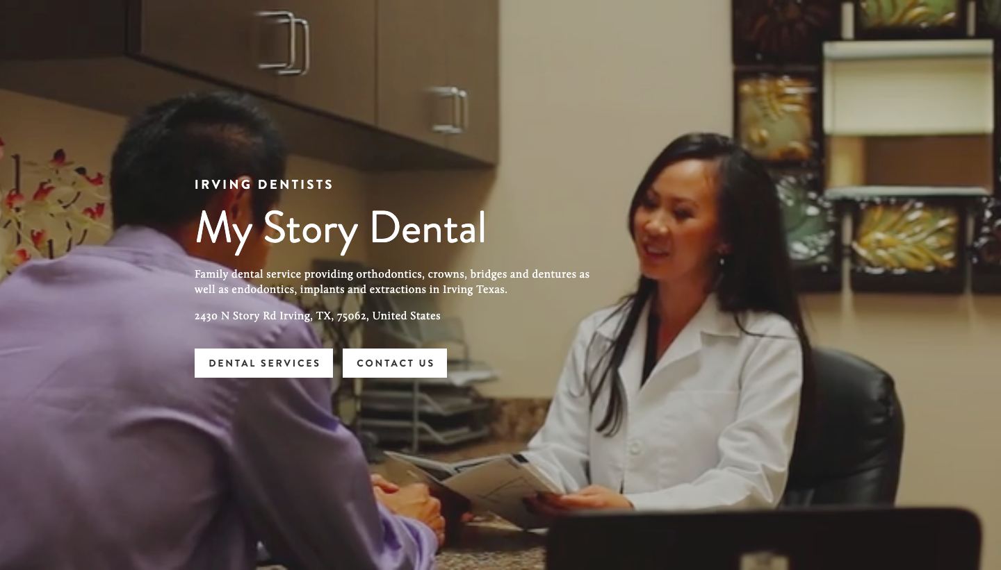 Family dental service providing orthodontics, crowns, bridges and dentures, as well as endodontics, implants and extractions in Irving Texas.