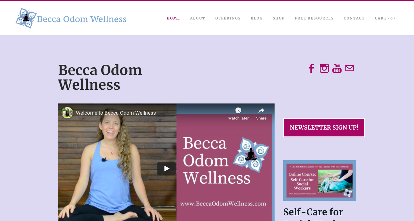 An online platform for resources on self-care, stress management, sleep support, trauma recovery   more!